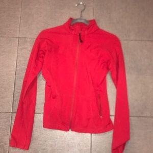 Red lululemon jacket